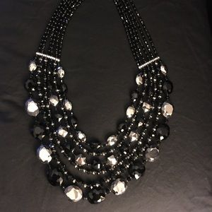 Sparkly party necklace